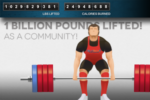 We lifted 1 BILLION pounds!