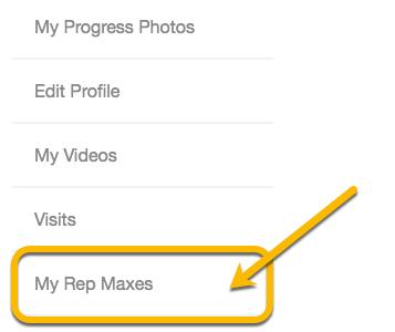 rep max tab