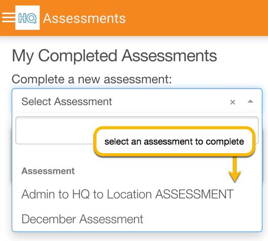 select assessment