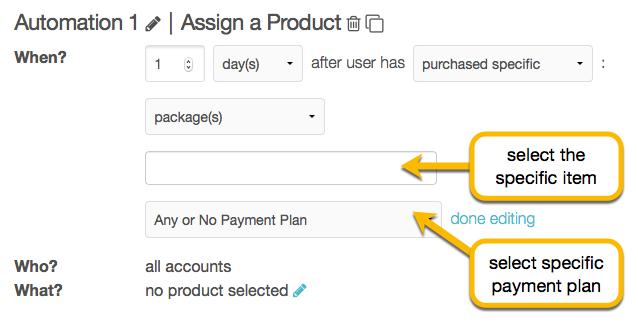 purchase settings