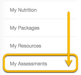 assessment tab