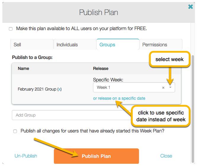 publish plan