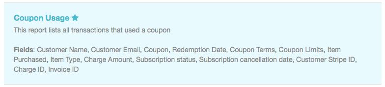 coupon usage